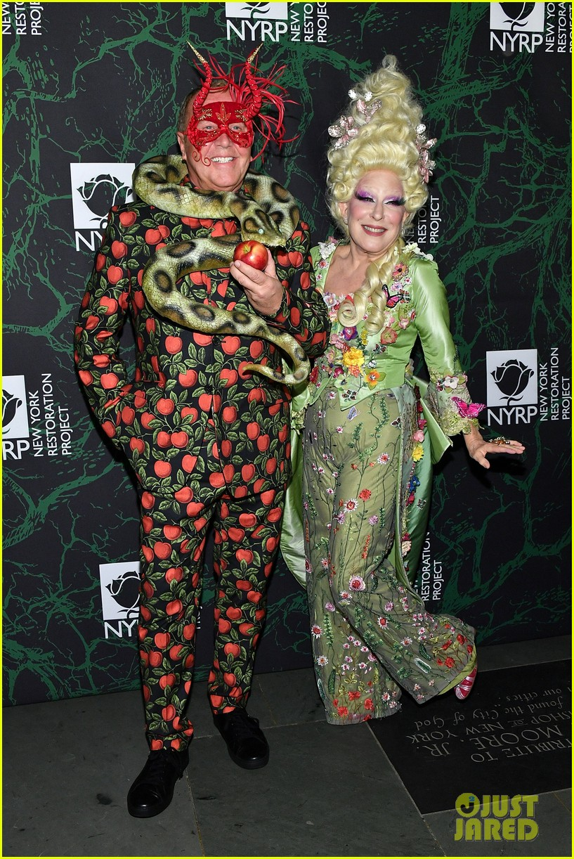 bette midler hulaween party 033979988