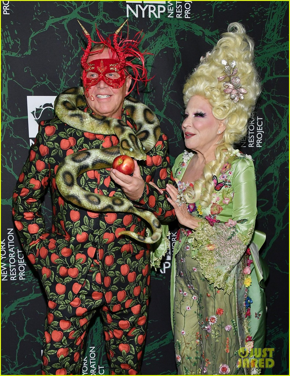 bette midler hulaween party 143979999
