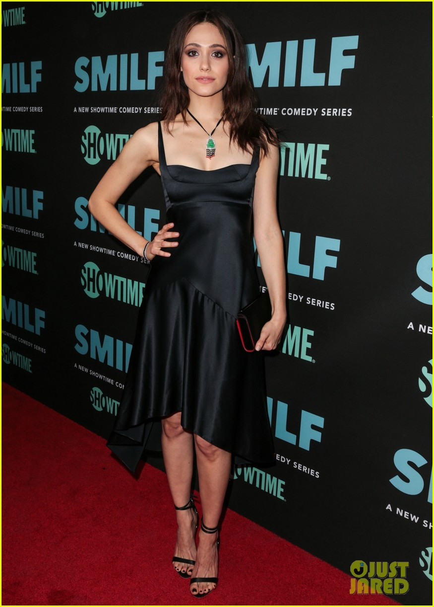 emmy rossum supports frankie shaw connie britton at smilf premiere 113970448