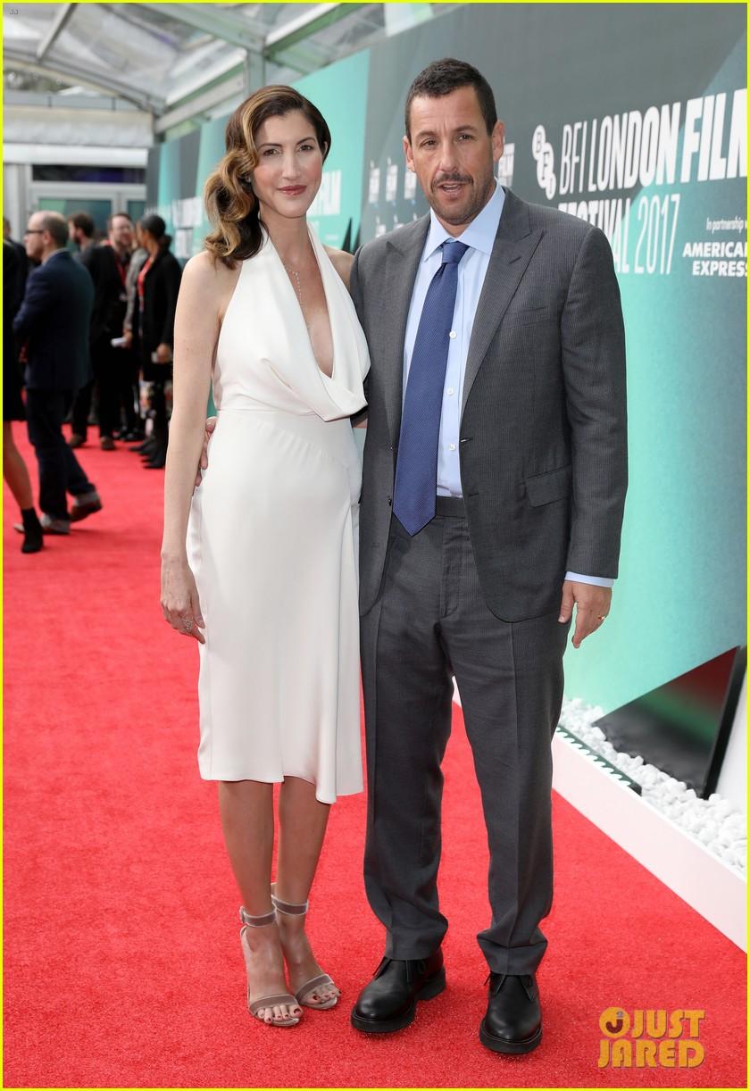 Adam Sandler Amp Wife Jackie Couple Up At The Meyerowitz