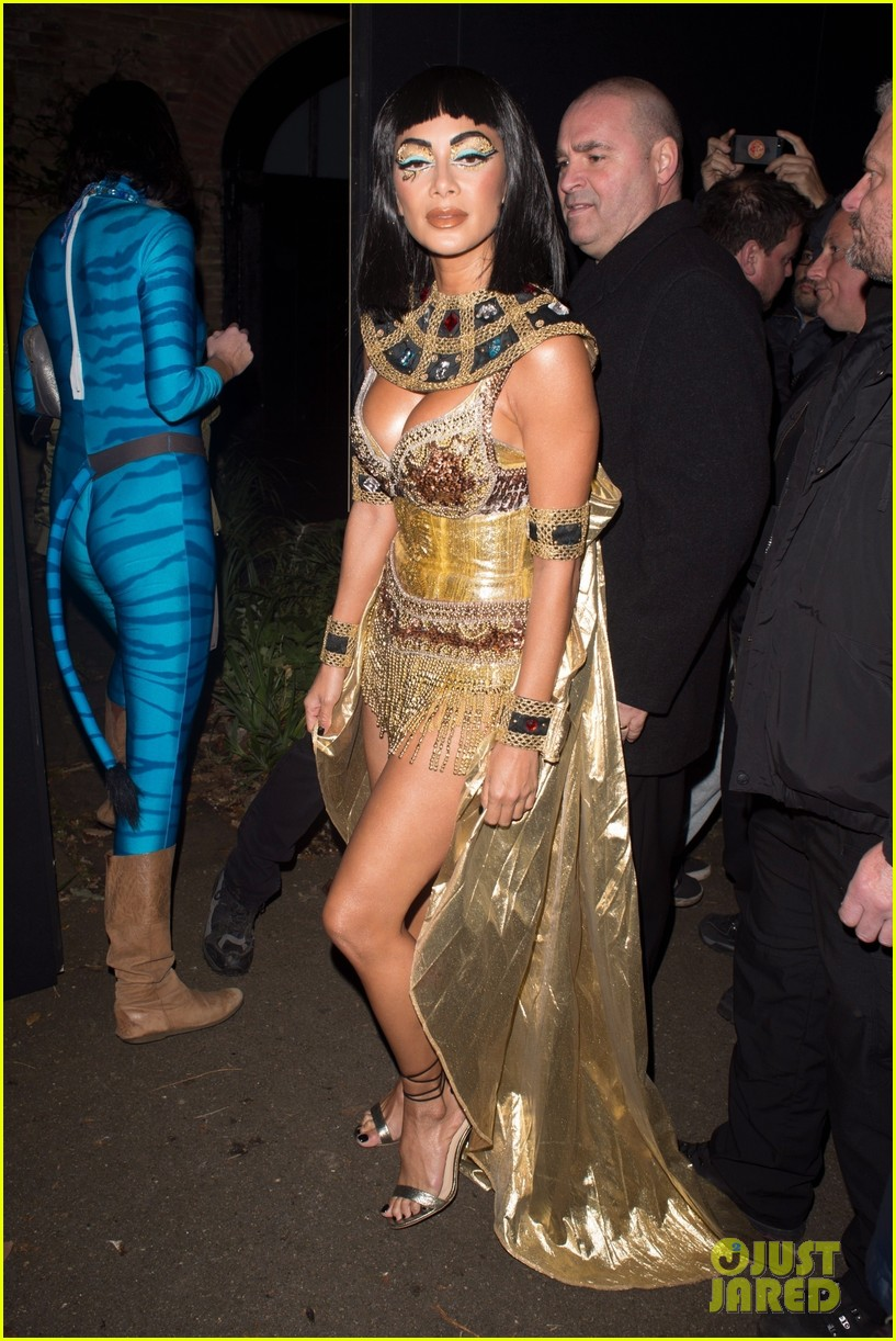 Nicole Scherzinger Halloween Costume.Nicole Scherzinger Looks So Sexy As Cleopatra For Halloween Photo