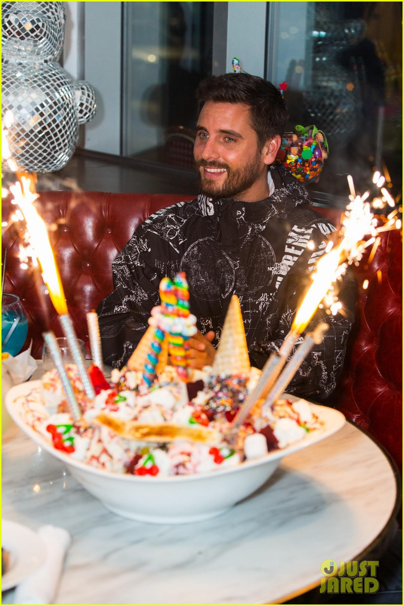 Scott Disick Celebrates Sugar Factory Opening Before White