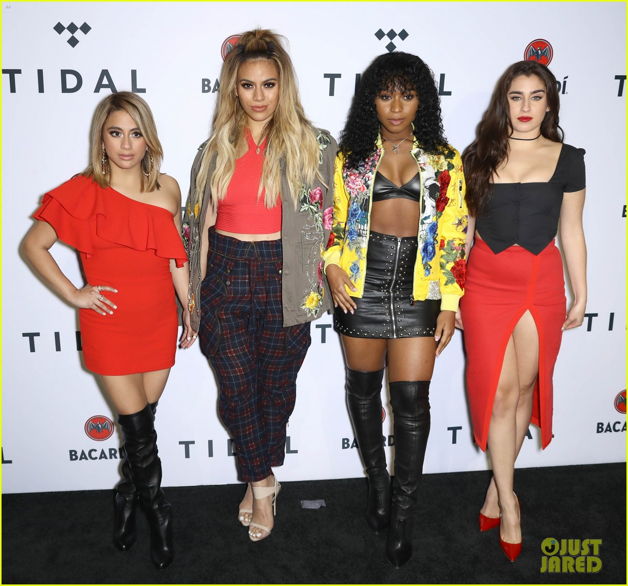 fifth harmony arrive in style for tidal brooklyn concert 013974301