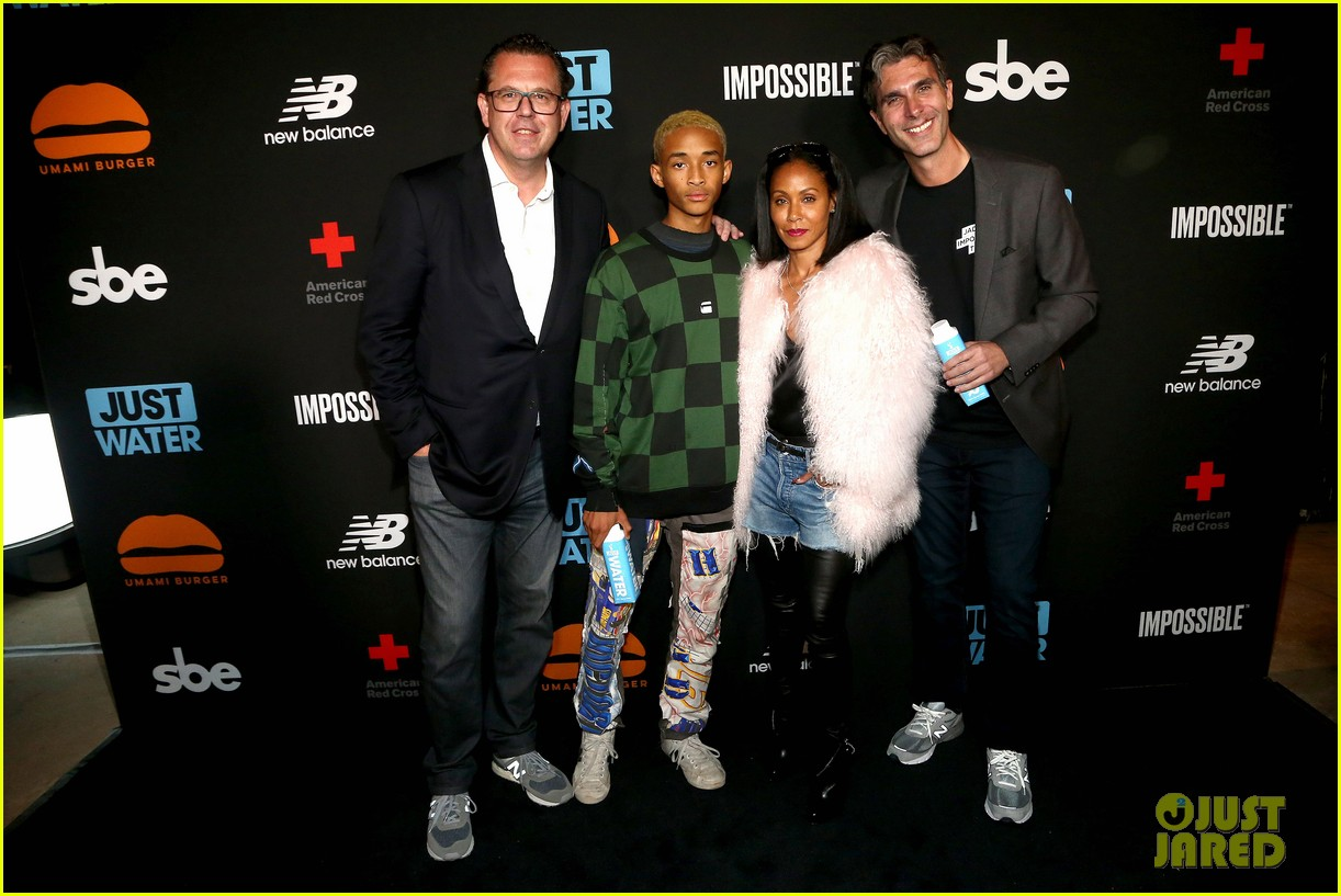 jada pinkett smith supports son jaden at umami burger impossible launch 023971416