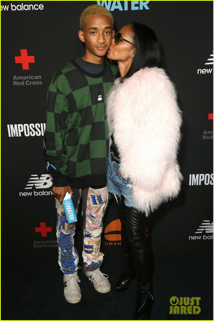 jada pinkett smith supports son jaden at umami burger impossible launch 083971422