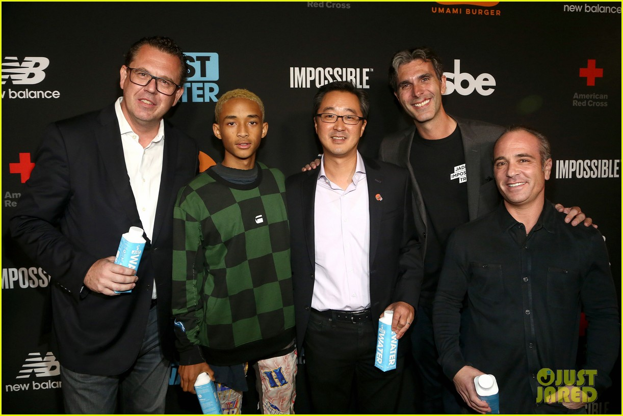 jada pinkett smith supports son jaden at umami burger impossible launch 103971424