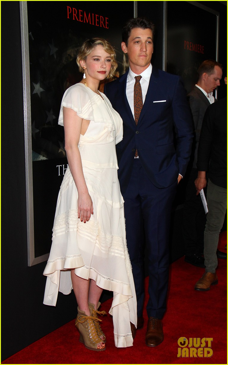 miles teller keleigh sperry couple up at thank you for your service premiere 013977175
