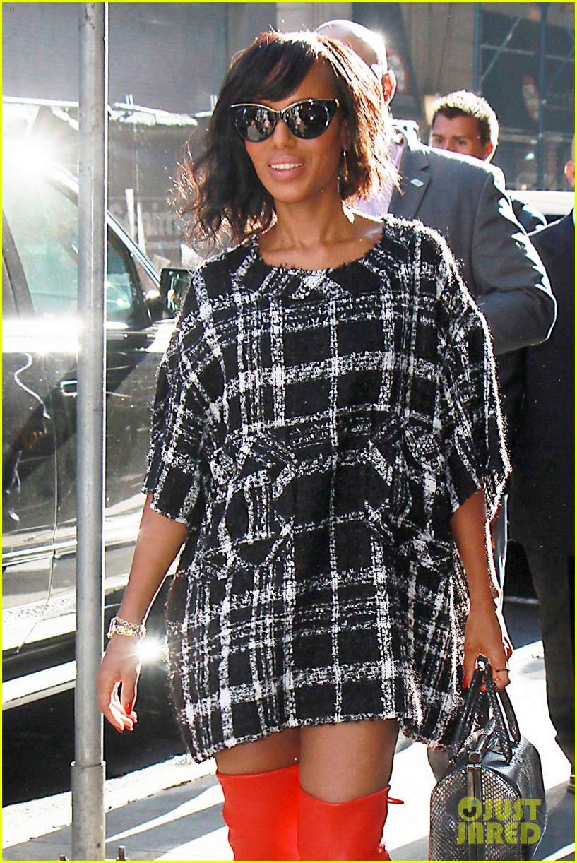 kerry washington talks being substitute teacher after starring in big break 023968503