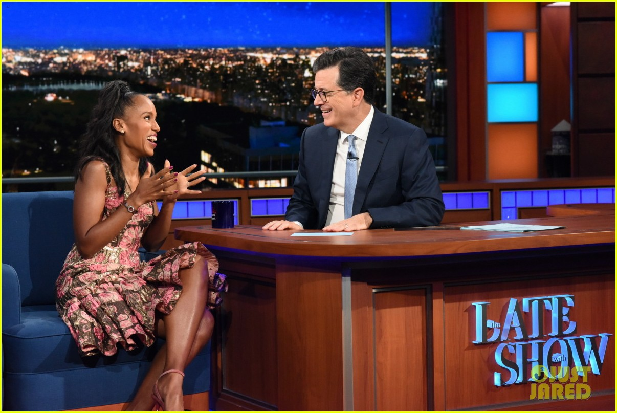 kerry washington talks being substitute teacher after starring in big break 053968506
