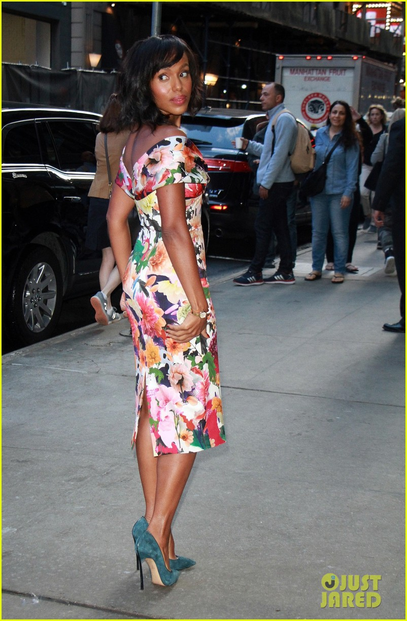 kerry washington talks being substitute teacher after starring in big break 083968509