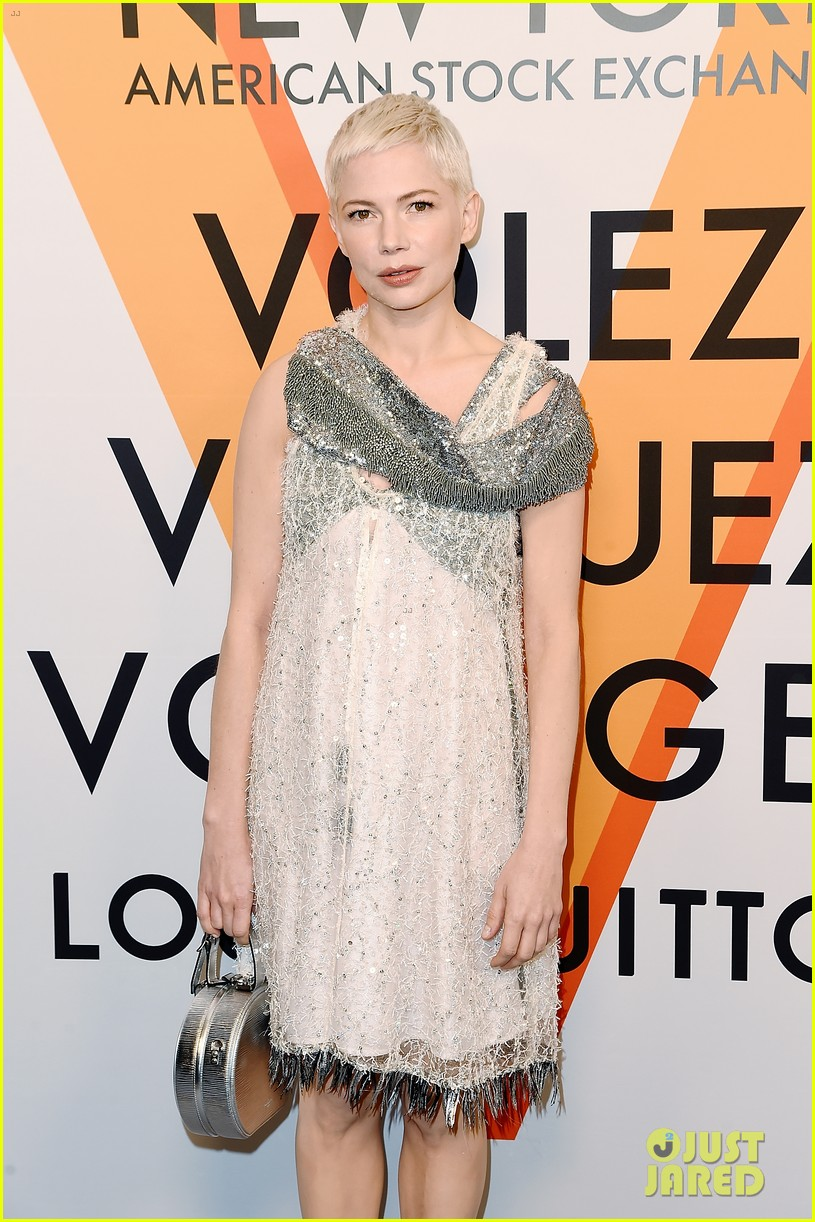 michelle williams ruth negga jennifer connelly hit up the louis vuitton exhibition opening 043978726