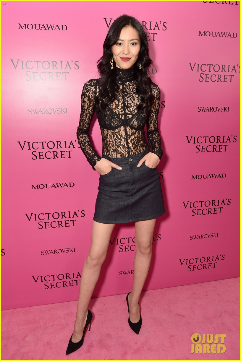 lily aldridge adriana lima candice swanepoel victorias secret fashion show after party 013990808