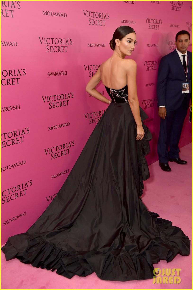 lily aldridge adriana lima candice swanepoel victorias secret fashion show after party 033990810