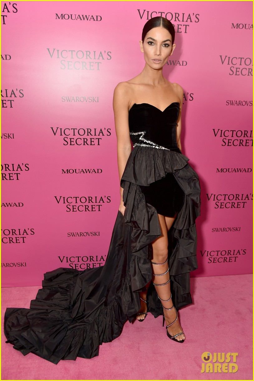 lily aldridge adriana lima candice swanepoel victorias secret fashion show after party 113990818