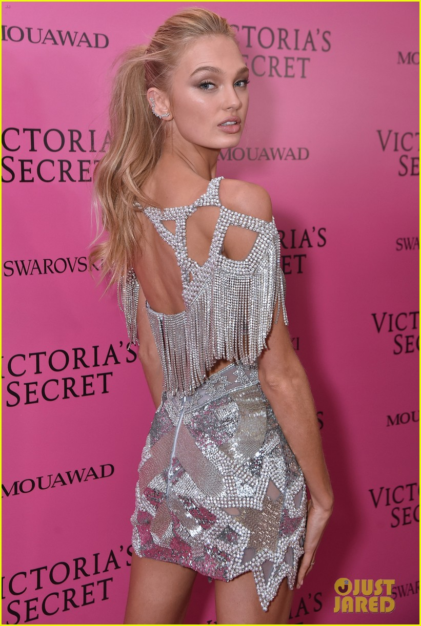 lily aldridge adriana lima candice swanepoel victorias secret fashion show after party 183990825