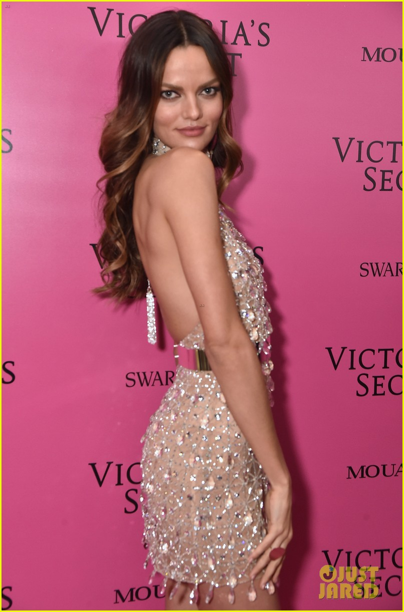 lily aldridge adriana lima candice swanepoel victorias secret fashion show after party 233990830