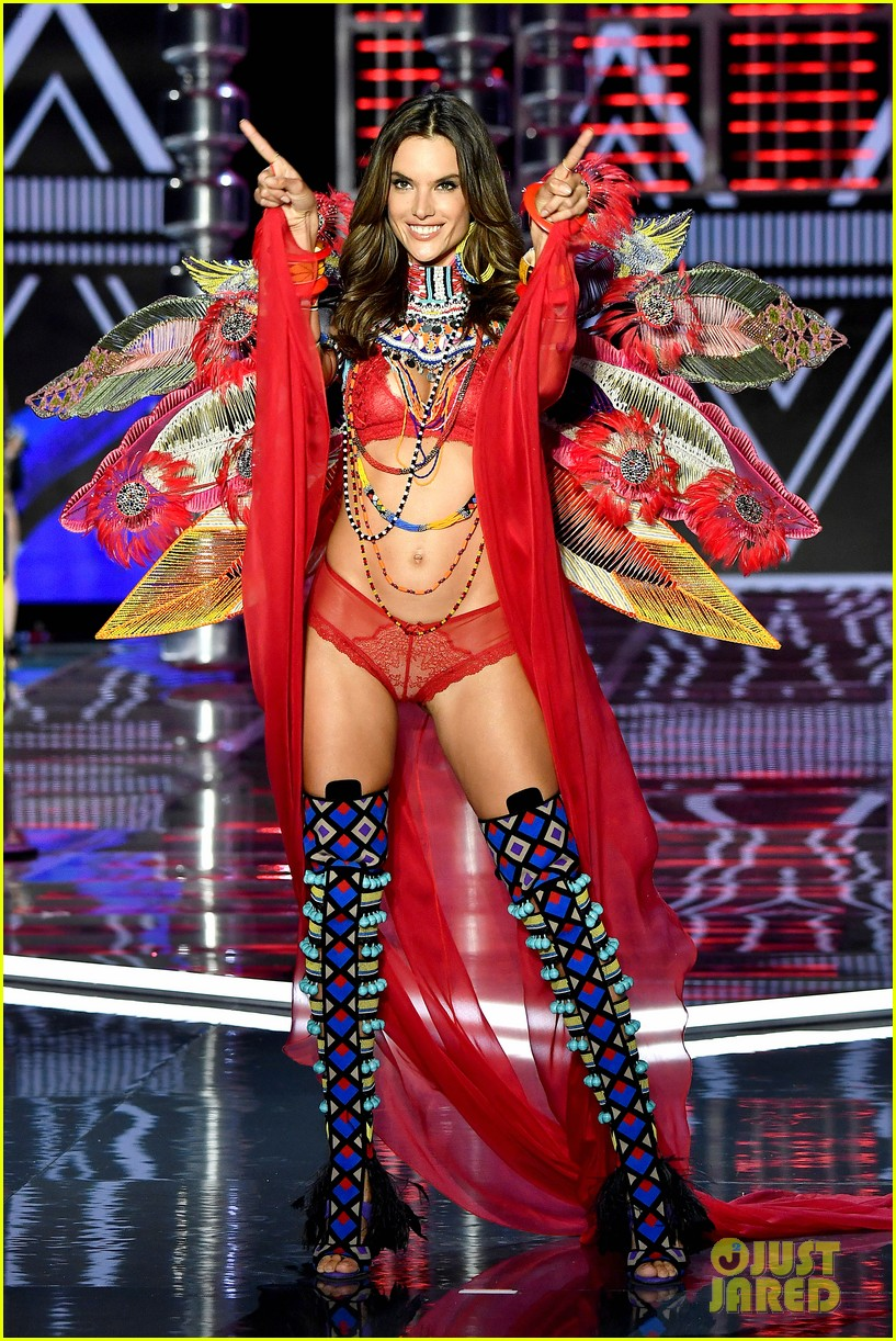 1b30963d3c Alessandra Ambrosio Announces Retirement from Victoria s Secret Fashion Show