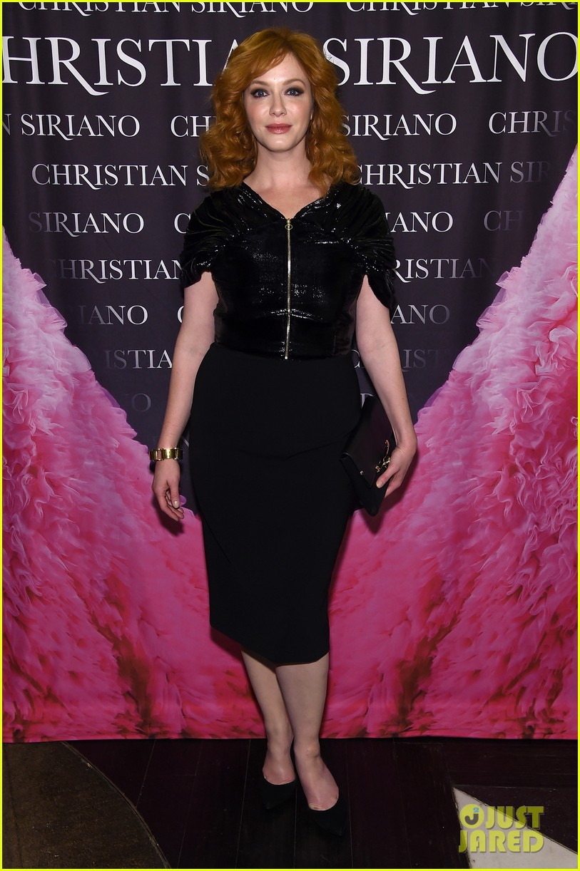drew barrymore christina hendricks christian siriano dresses to dream about book launch 233984833