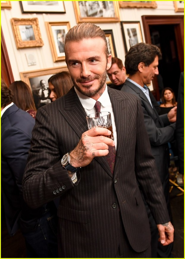david beckham tudor watch event 01.3985809