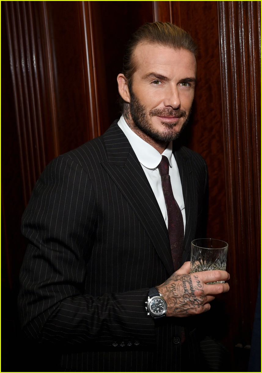 david beckham tudor watch event 053985813