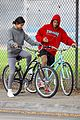 justin bieber selena gomez bike ride together 53