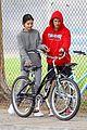 justin bieber selena gomez bike ride together 57