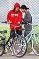 justin bieber selena gomez bike ride together 61