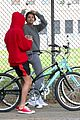 justin bieber selena gomez bike ride together 73