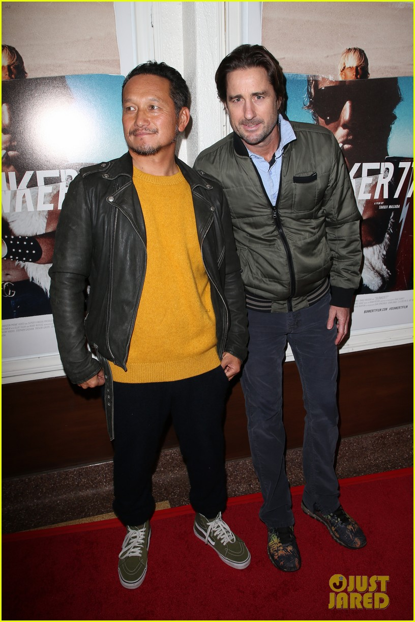 gerard butler joel kinnaman step out to support bunker77 doc premiere 123981174