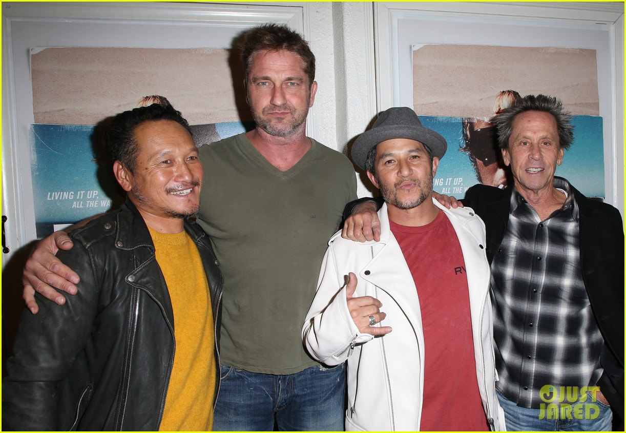 gerard butler joel kinnaman step out to support bunker77 doc premiere 263981188