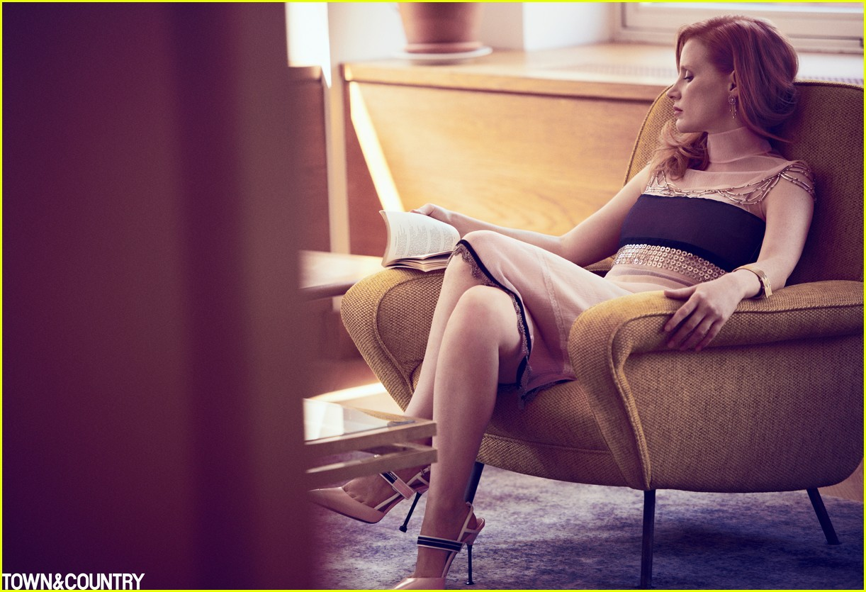 jessica chastain town country magazine 033987268