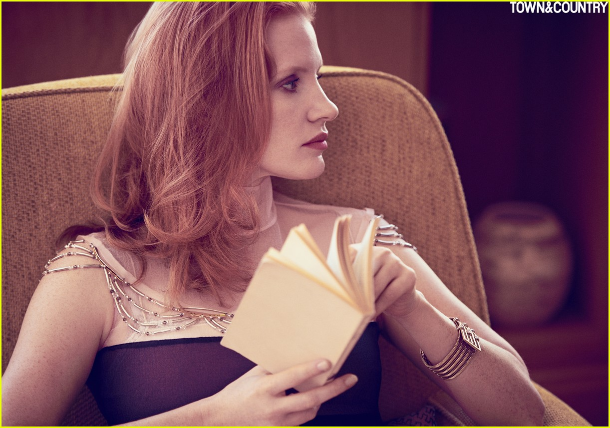 jessica chastain town country magazine 043987269