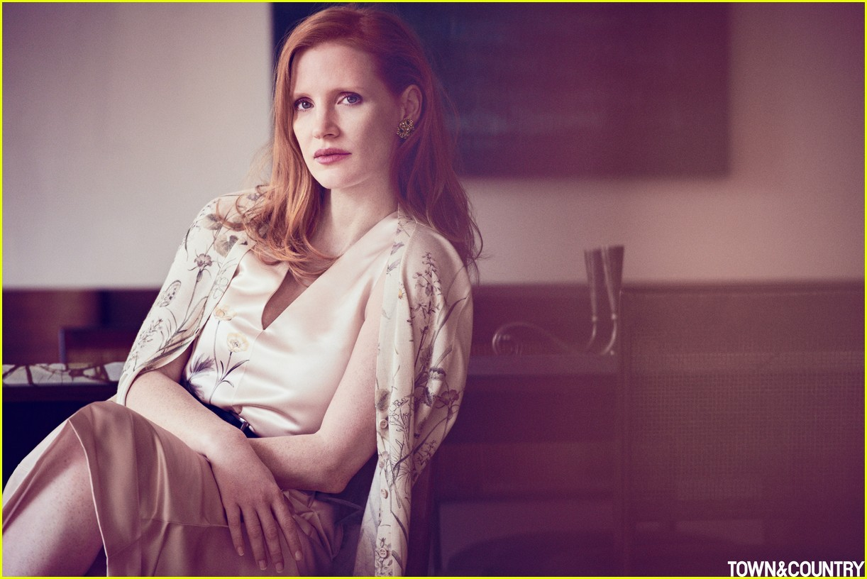 jessica chastain town country magazine 083987273