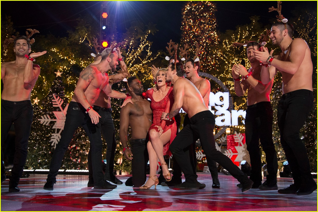 dancing with the stars men go shirtless sexy santas 013991449