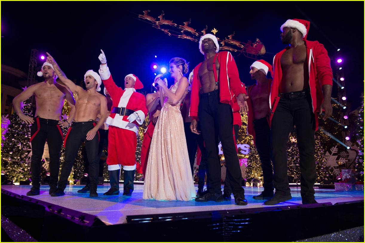 dancing with the stars men go shirtless sexy santas 043991452