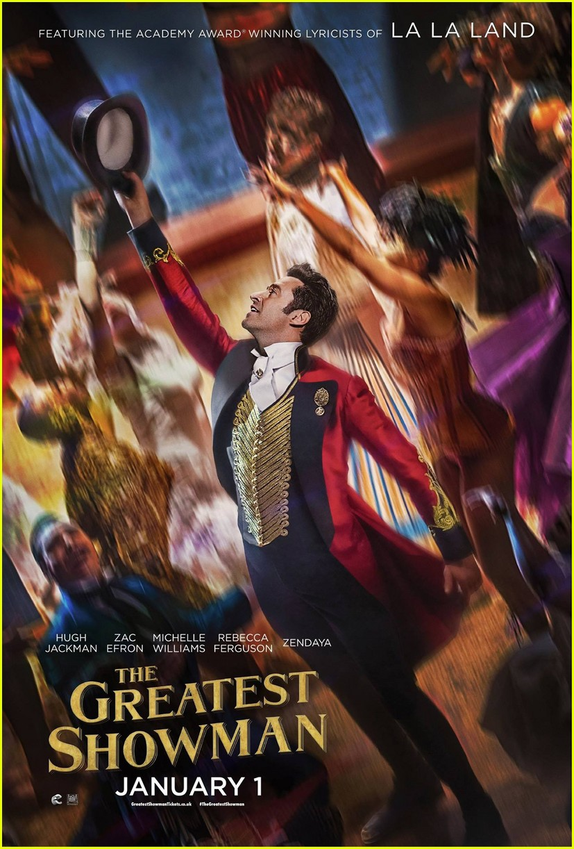 zac efron zendaya greatest showman posters 053983317