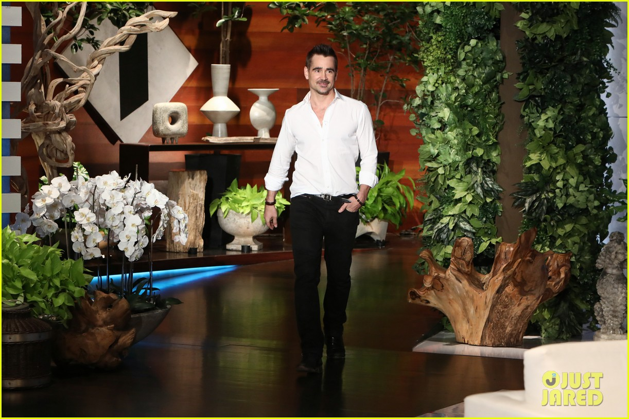 colin farrell opens up about his mystery girlfriend on ellen 013987274