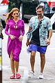isla fisher and matthew mcconaughey get into character on beach bum set 11