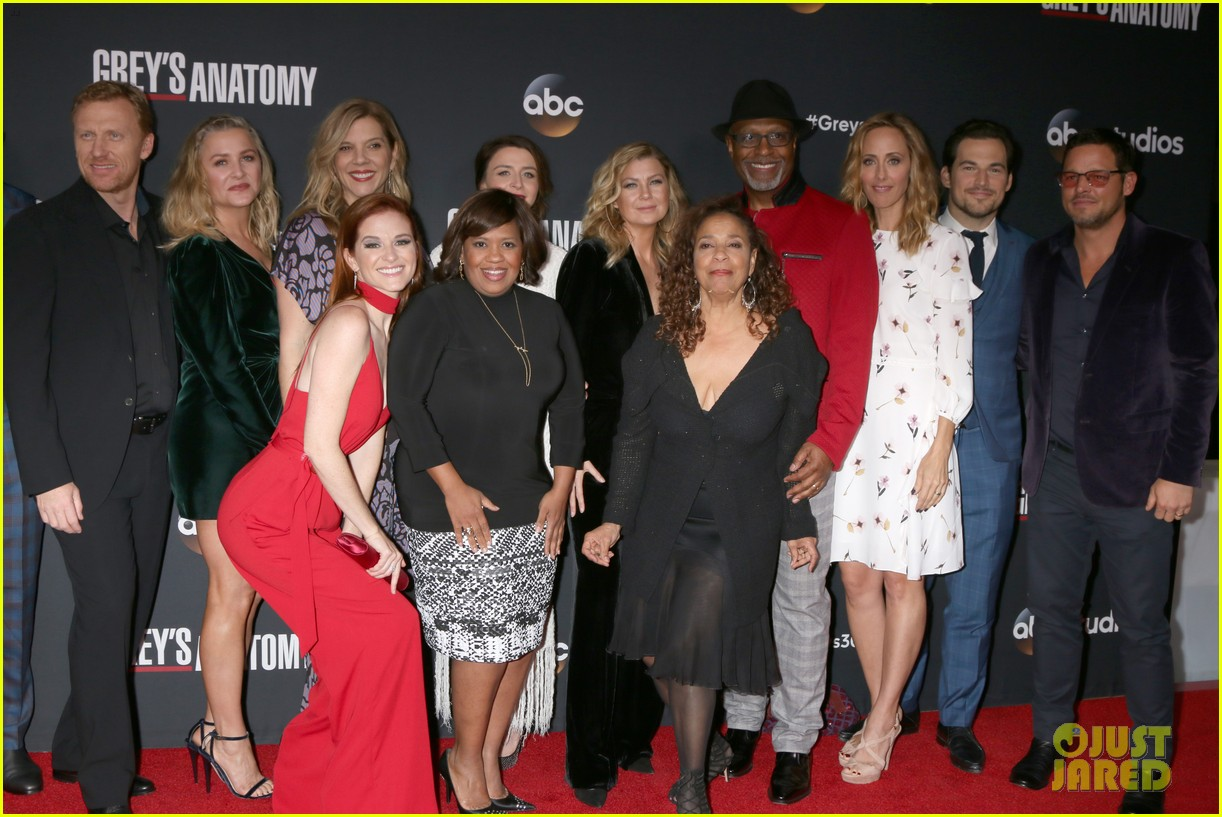 Ellen Pompeo & \'Grey\'s Anatomy\' Celebrate 300th Episode!: Photo ...