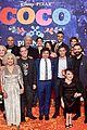 jonathan groff idina menzel join coco cast at marigold carpet premiere 02