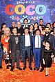 jonathan groff idina menzel join coco cast at marigold carpet premiere 40