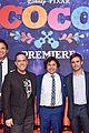 jonathan groff idina menzel join coco cast at marigold carpet premiere 68