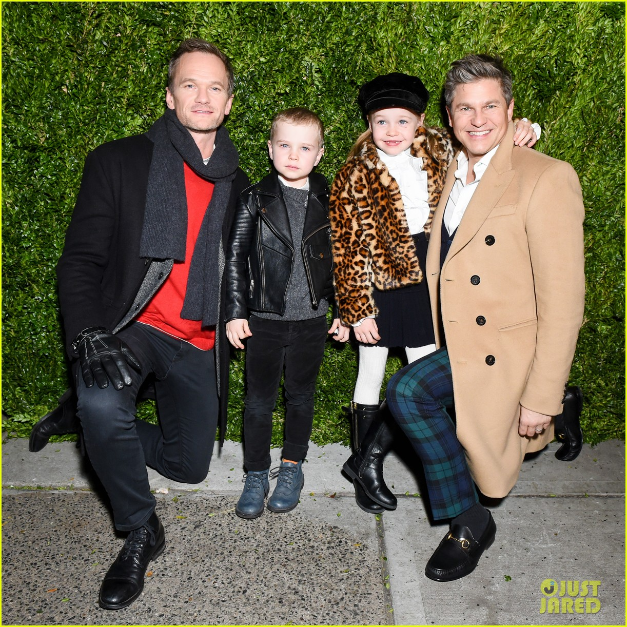 neil patrick harris david burtka make it a family affair at saks fifth avenue 013991144