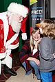 jaime king family meet santa at the grove christmas tree lighting 01