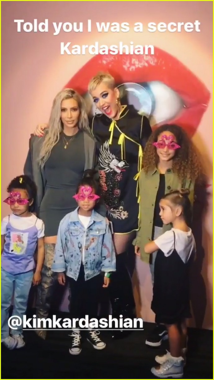 kim kardashian takes north to see katy perry in concert 023985716