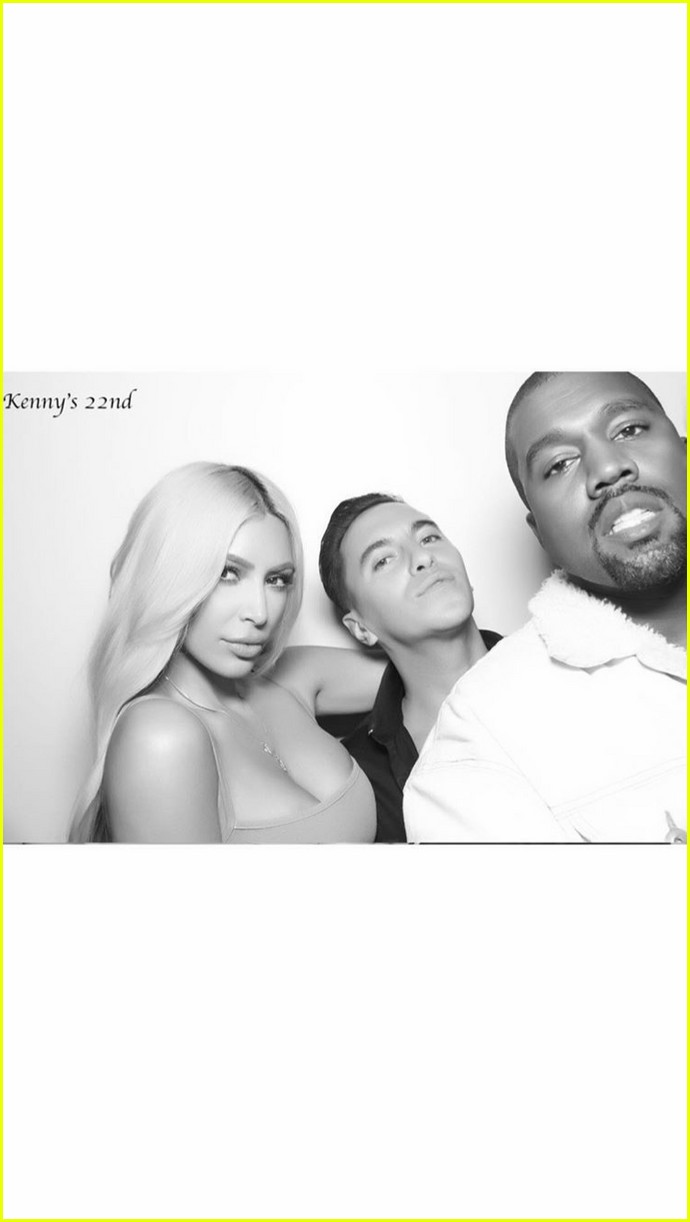 kim kardashian shares photo booth pics from kendall jenners birthday 053982298