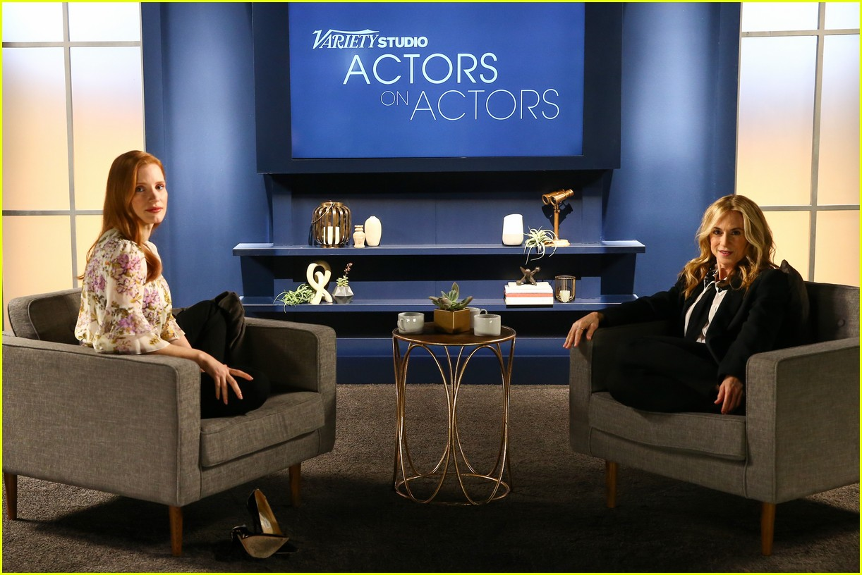 jennifer lawrence jessica chastain variety actors on actors 073986643