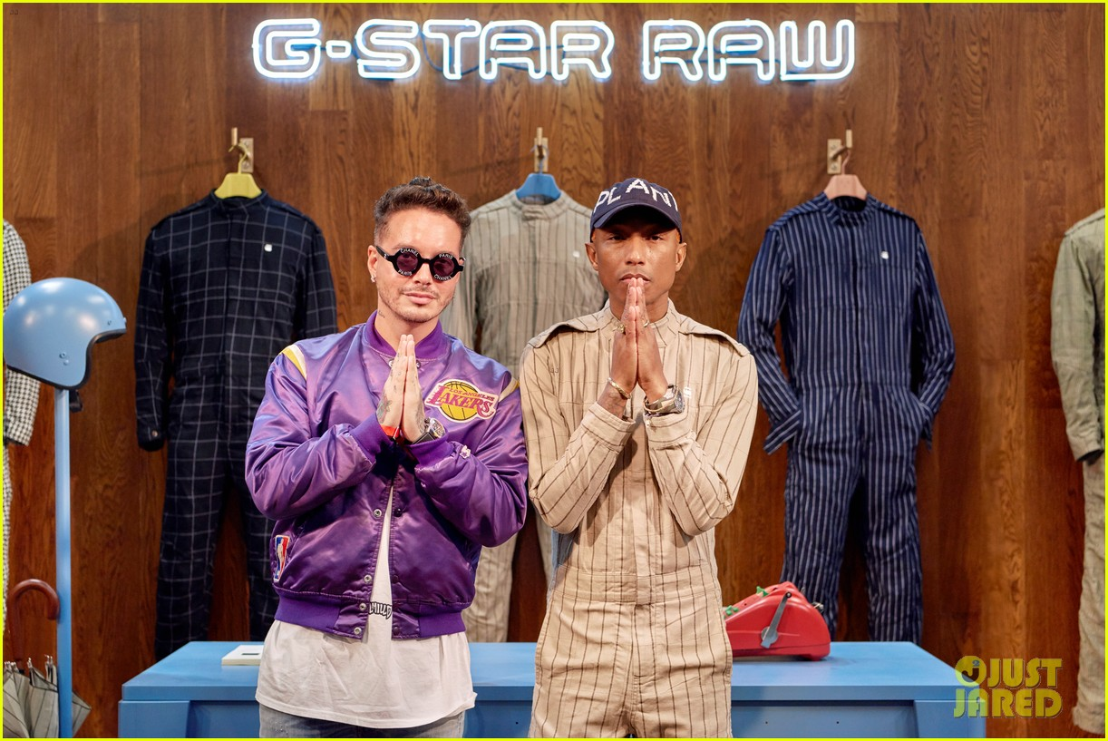 f88091fb62ff Pharrell Williams Launches G-Star Raw Suit Collection!  Photo ...