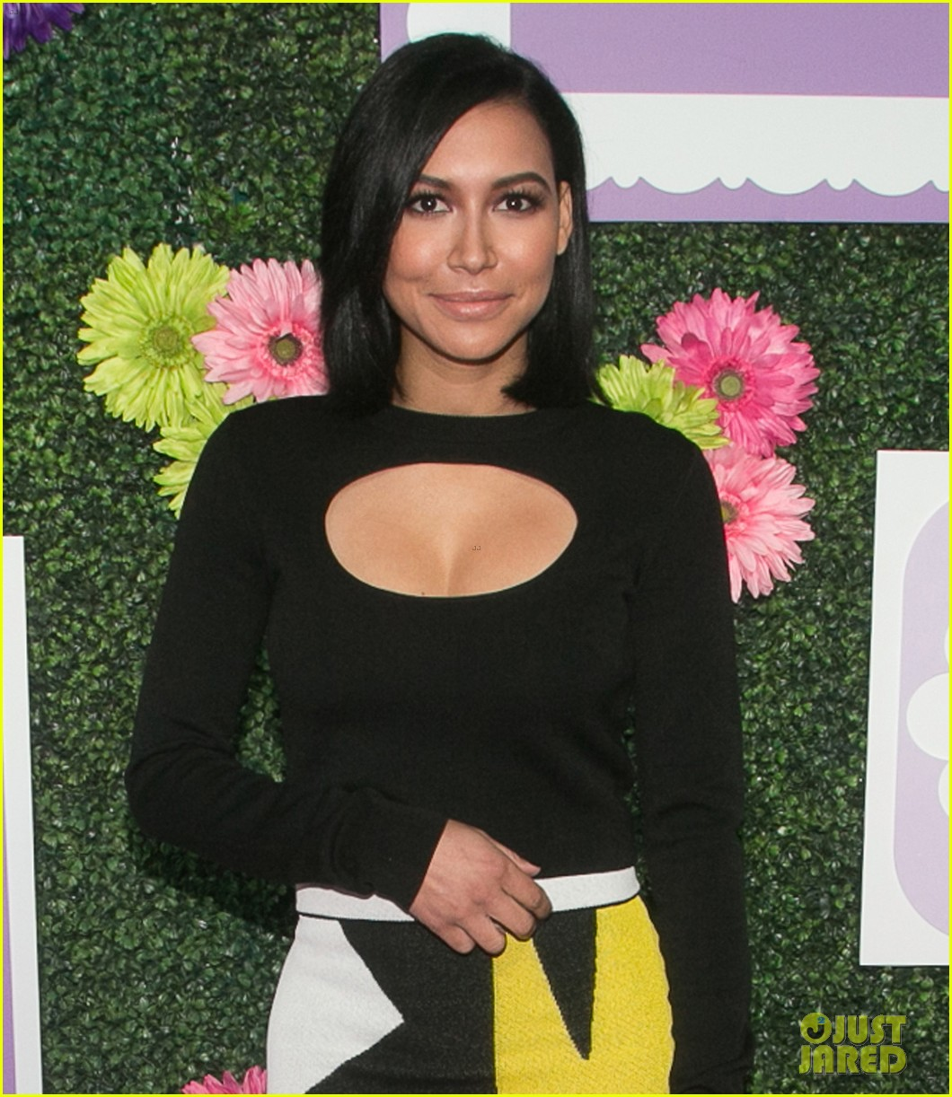 naya rivera steps out for march of dime imagine a world premiere 043985370