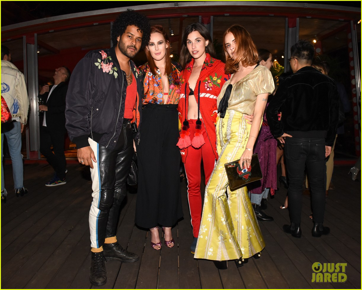 kelly rowland juno temple demi moore daughters celebrate gucci decor 183985438